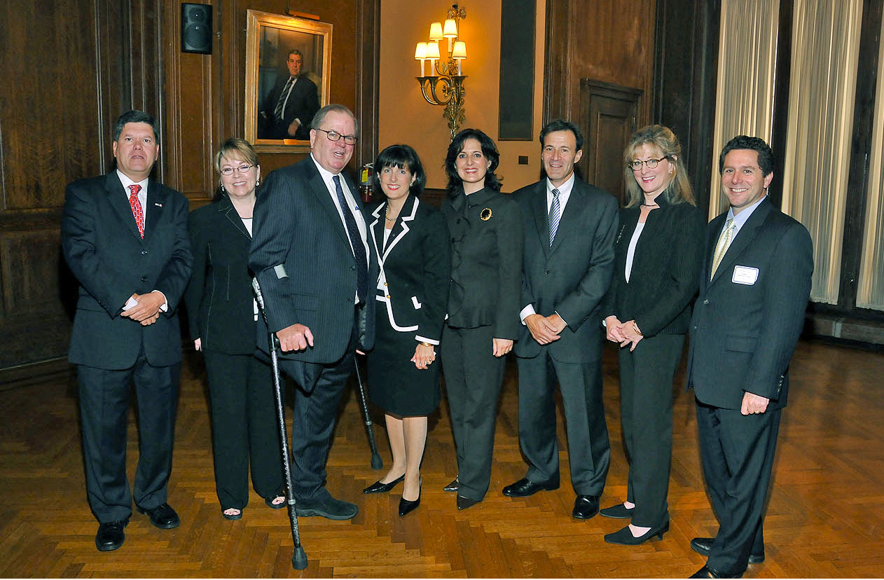 Chief Justice Ronald Castille & Judge Annette Rizzo Honored by Justinians